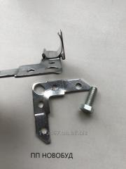 Уголок для шинорейки (из оцинкованного метала) - 64мм