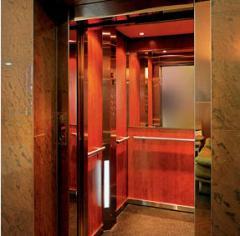 Elevator passenger for public buildings