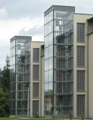 Elevator panoramic (transparent cabins) PUHP