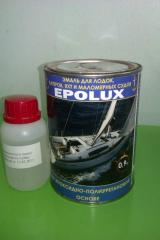 Enamel for yachts, boats, boats and the ships