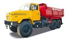 Платформы грузовые на автомобилях КрАЗ V 20 м3 с