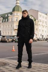 Мужской костюм Softshell черный демисезонный...