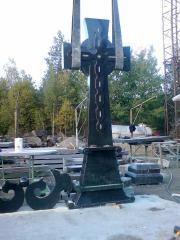 Crosses granite