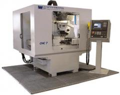 The milling machine with ChPU, 3 spindle, the CNC