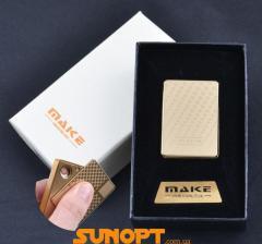 RSB зажигалка-слайдер в подарочной упаковке MAKE