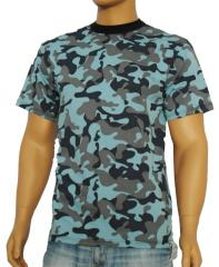 T-shirt man's K-01015, a camouflage - the