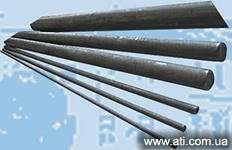 Electrodes coal 6 mm, 8 mm, 15 mm, 18 mm.