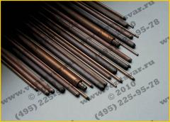 Electrodes coal SK and VDK, with a diameter of 6 -