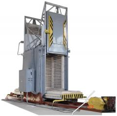 Electric furnace SDOP 12.21.20/8,5 through passage