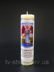 """Свеча ритуальная Таро """"Жрица"""" 14х3,5см."""