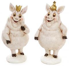 """Набор 2 декоративных фигурки """"Королевские..."""