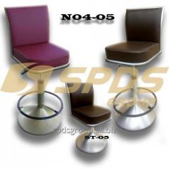 Chairs for casino N04-05, chairs with adjustment of heigh