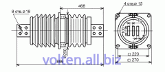 Изоляторы проходные для внутренней установки ИП-20/3150