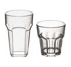 Glass for a moji