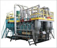 Modernization of mills of AVM-15