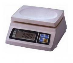 The equipment is weight measuring