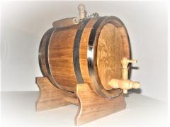 Anchor oak barrels (oval)