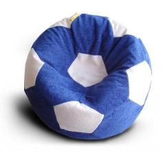 Chair ball (blue and dairy) fluffy