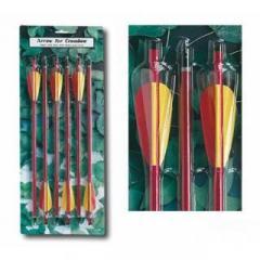 Набор алюминиевых стрел для арбалета AL14/6R.