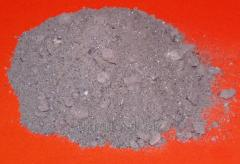 Refractory wear-resistant mix for lining of blast