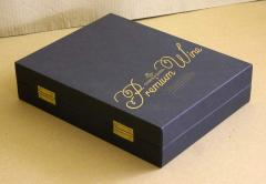 Gift cardboard packing (box) of a premium class