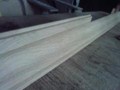 Plinth, a galtel, an edge, a bordyurny board from