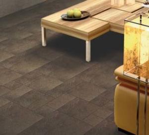 Ceramic tile for a floor