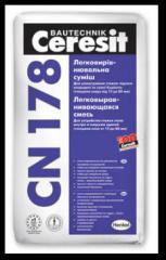 The easily leveled mix Ceresit CN 178