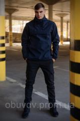Комплект анорак softshell Walkman синий + штаны