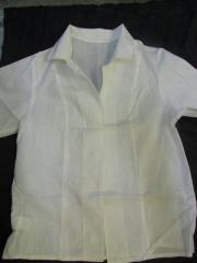 Блуза женская хб на пугавицах