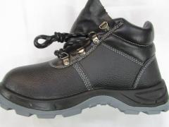 Ботинки кожаные sedlex арт. 332 SB литьевой метод