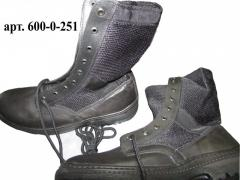 Ботинки ОМОН (сетка), модель 110 (спецобувь