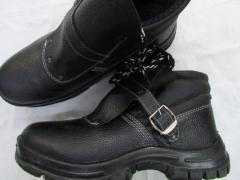 Ботинки рабочие для сварщика литые