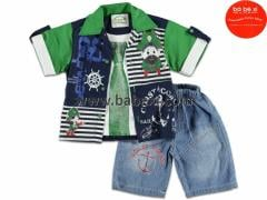 Jeans nurseries Babeksi. A suit on the boy