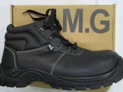 Ботинки рабочие литьевого метода крепления MANGO