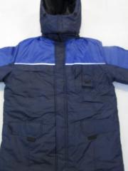 Куртка рабочая утепленная зима люкс ворот стойка