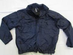 Куртка темносиняя тактическая с флисовой...