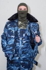 Куртка утепл. «БАРС» под резинку с меховым
