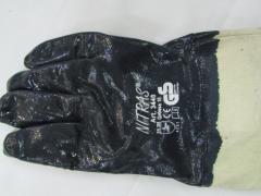Перчатки Нитрильные NITRAS арт. 3440 с крагами(2