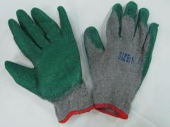 Перчатки трикотажные с нитриловым напылением...