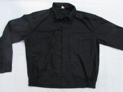 Рубашка форменная с длинным рукавом под резинку