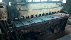 Ножницы гильотинные Н3116, 4х2000 мм