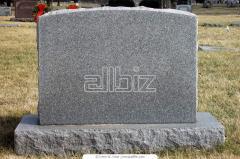 Памятники из гранита, крошки, бетона