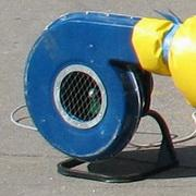 The fan centrifugal for inflatable trampolines