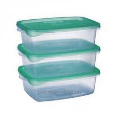 Набор контейнеров для пищевых продуктов 1 л. х 3