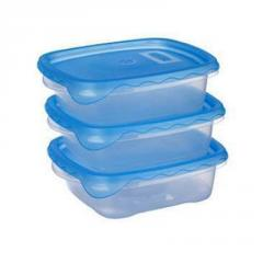 A set of containers for food 0.7 l. x 3 pcs.