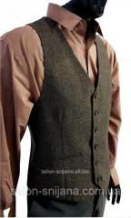 Men's vest Tweed 26