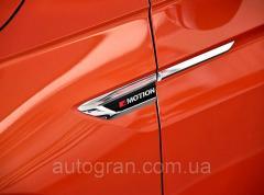 Эмблемы на крылья VW Volkswagen Tiguan 2016-