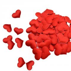 Сердечки мягкие для декора,  свадебное...