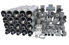 Pipe from plastic